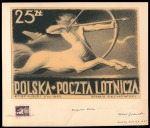 1949, Centaur, Stamp artwork