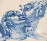 rysunek piórkiem na papierze 1937