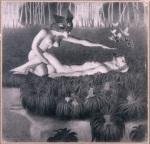 Jackowi Malczewskimu, 1932, rysunek, 31x33cm