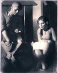 Dziewczyna i chopiec, 1946, do Pawie Pior