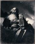 Spiew Marty, 1956, ilustr. do Na Srebrnym Globie J. Zulawskiego, papier, olowek, wegiel, 42x33cm