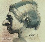Portret własny z profilu 1941