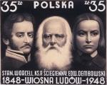 Projekty znaczkow pocztowych z serii Wiosna Ludow. Projects of a series of postage stamps Spring of Nations
