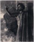 Demostenes cwiczacy wymowe, lata 40