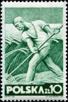 Stamp, Labour Day, 1947,Farmer.